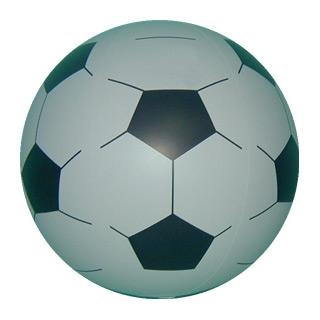 Aufblasbarer Fußball - Wasserball - Strandball
